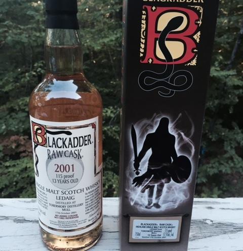 Blackadder Raw Cask - Ledaig 2001_3
